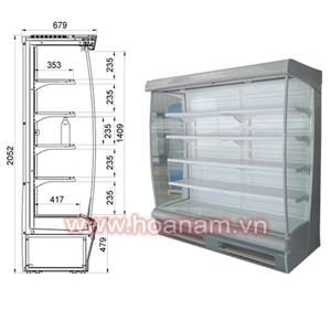 Tủ mát siêu thị KS-Suzzi70 - Giá tốt nhất, Chất lượng cao - Hoa Nam